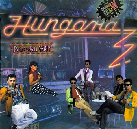 Hungaria - Rock 'N Roll Party (1980, Vinyl)   Discogs