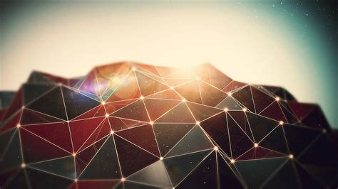 render, CGI, Abstract, Anime, Lacza, Wireframe Wallpapers