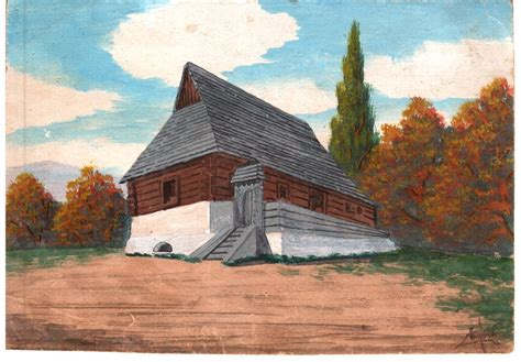 Fájl:Old Székely House - painted cca 1930, watercolor