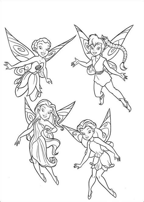 Drawings to print Tinker bell