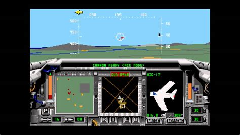 F-15 Strike Eagle II for the Sega Genesis with Mikey's