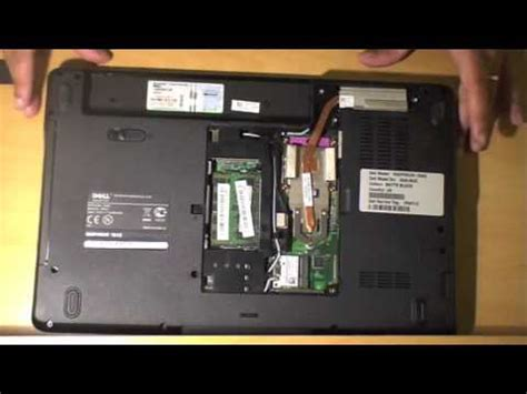 Dell Inspiron RAM & Hard Disk Replacement / Upgrade - YouTube