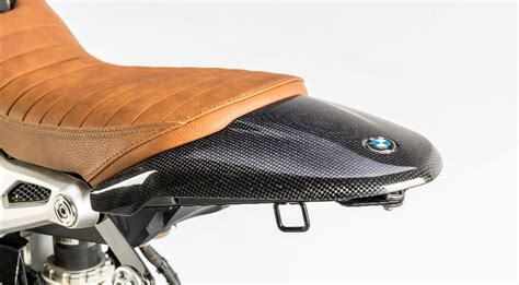 Seat cover for single seat for BMW RnineT Scrambler