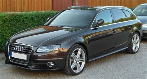 2008 Audi A4 avant (b8) – pictures, information and specs