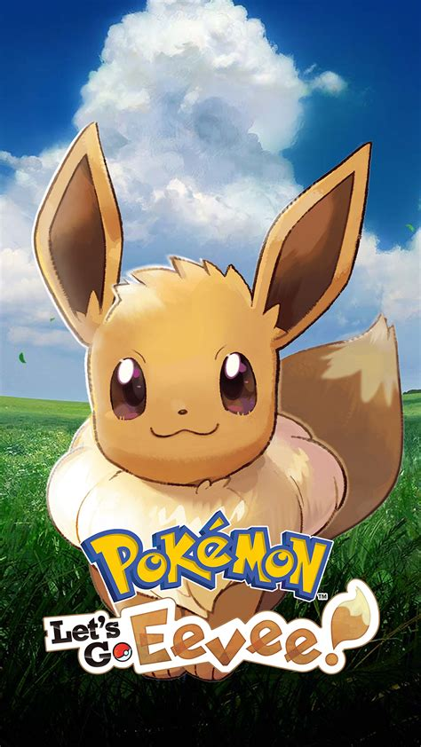 Pokemon Let's Go Eevee (v2) Wallpapers   Cat with Monocle