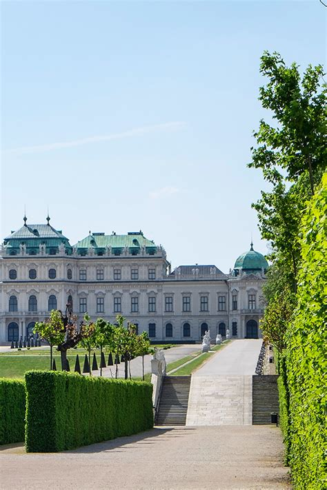 The Belvedere is not only a magnificent Baroque palace but