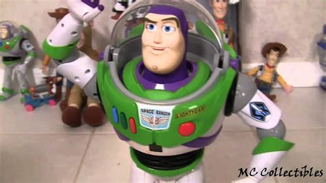 Talking Buzz Lightyear Ultimate Fighter Action Figure
