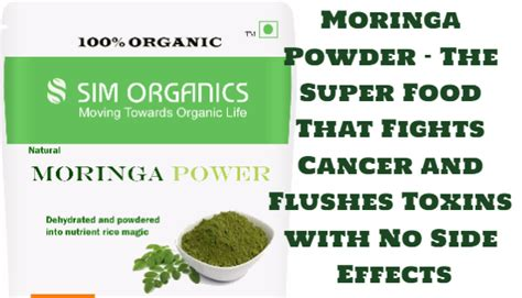 Moringa Powder - The Super Food That Fights Cancer and