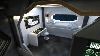 Spaceship Crew Room | 3D Models for Poser and Daz Studio