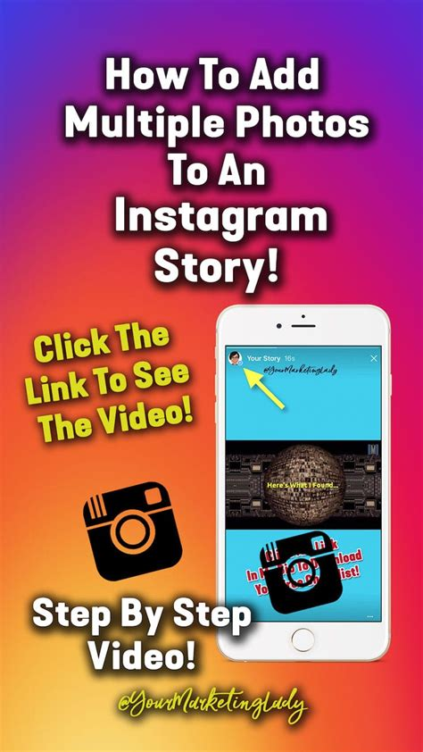 How To Add Multiple Photos To An Instagram Story