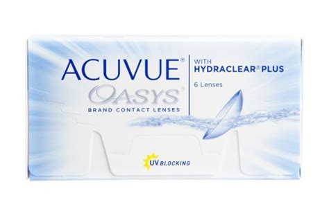 Acuvue Oasys With Hydraclear Plus (6 db) 1-2 heti