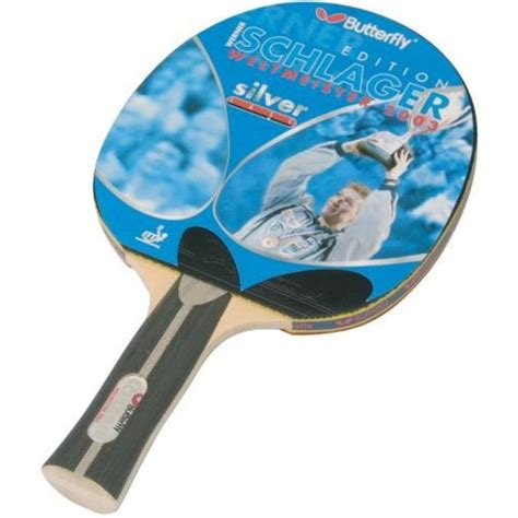 Butterfly Werner Schlager silver ping pong ütő