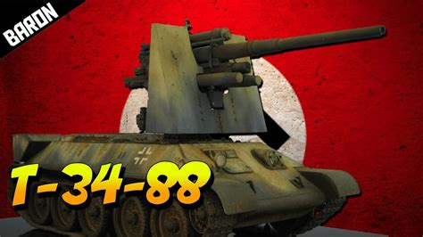 GERMAN T-34-88 Tank WTF is this? (Men of War Assault Squad