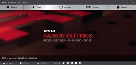 AMD replacing Catalyst Control Center with Radeon Settings