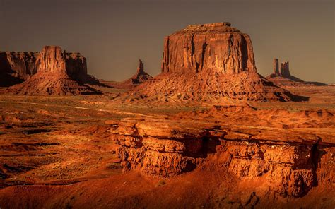 Monument Valley Navajo Tribal Park One Of The Most