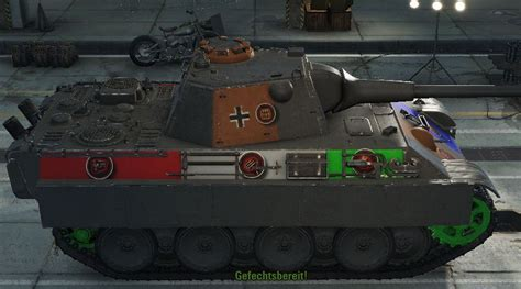 WOTINFO - Weak points of Panther mit 8,8 cm L/71