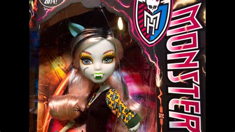 Frankie Stein Monster High Freaky Fusion Clawdeen Wolf