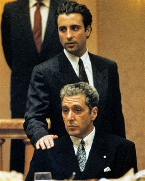 Andy Garcia The Godfather Part 3   Andy Garcia and Al