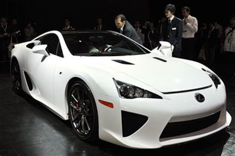 Lexus's $350,000 Sports Car - WSJ
