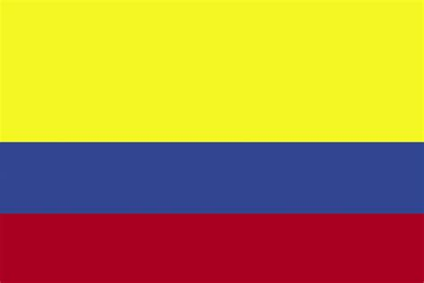 Flag of Colombia, 2009 | ClipArt ETC