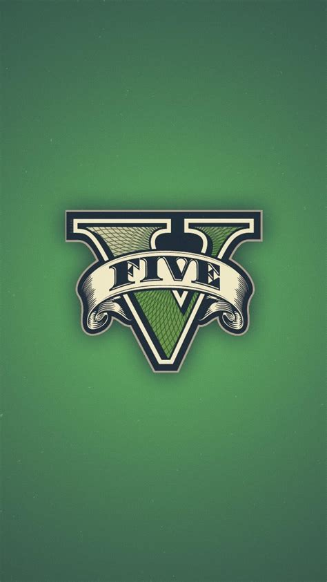 Gta 5 grand theft auto rockstar games logos Wallpaper