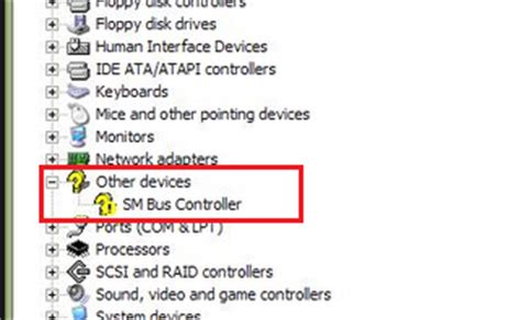 How to Fix SM Bus Controller Driver