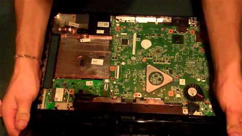Inspiron N5110: Hard Drive Removal - YouTube