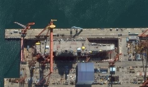 China's Second Aircraft Carrier Is Almost Complete – War