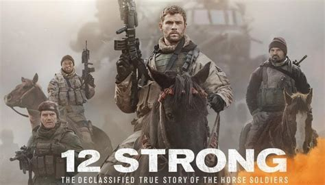 '12 Strong' Movie review : It's a war of horsemen against