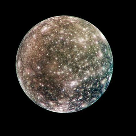 Space Images | Global Callisto in Color
