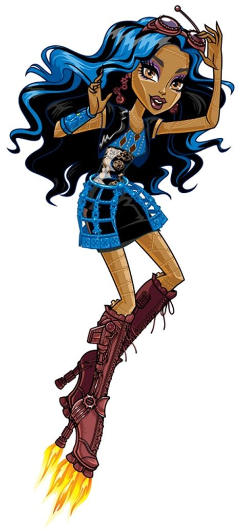 Robecca Steam - Monster High-wiki