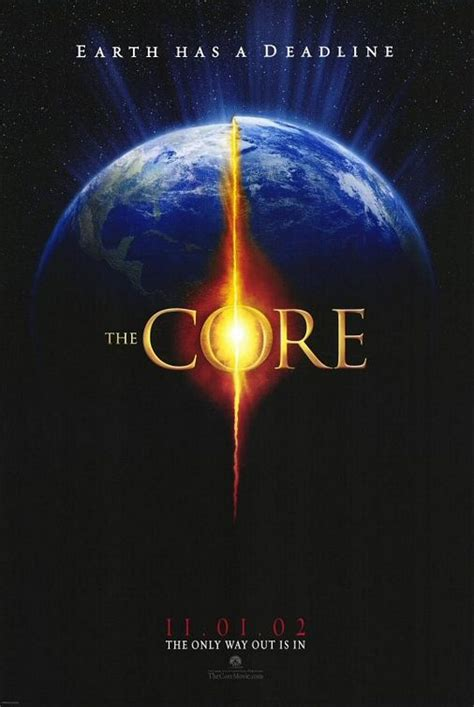 The Core Movie Poster (#1 of 3) - IMP Awards