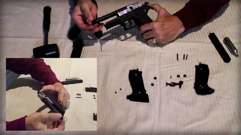 How to disassemble a Sig Sauer P226 ASP - YouTube