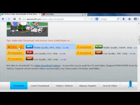 Free way to convert URL to MP4 - YouTube